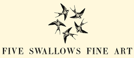 Five Swallows Fine Art Custom Artwork